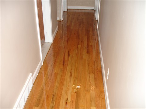 After Hallway Refinish