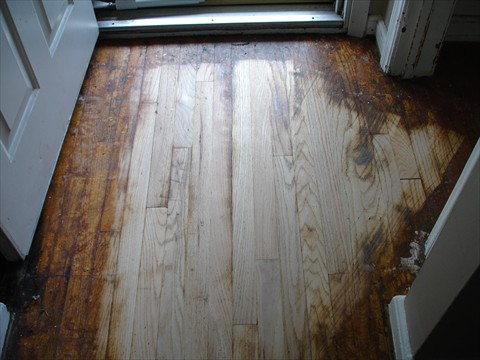 Wood Flooring Renovation - Before