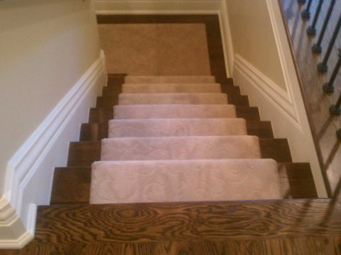 ... Wainscoting And Surround; Stair Work